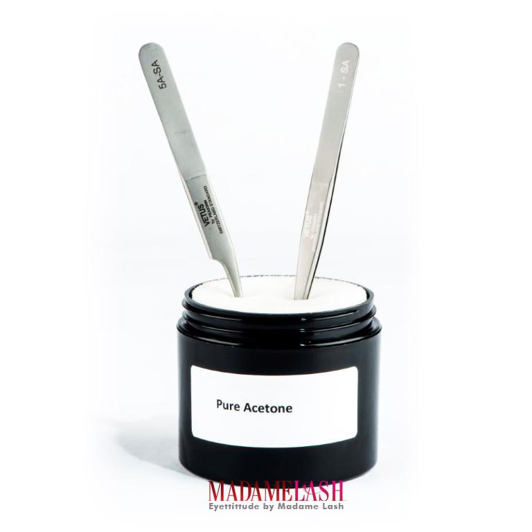Pure Acetone Jar