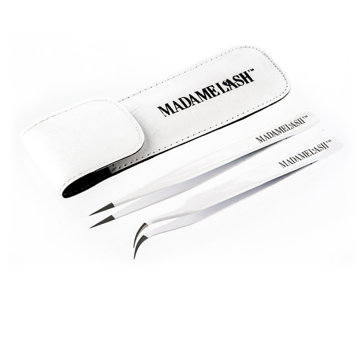Professional Tweezer Set - white