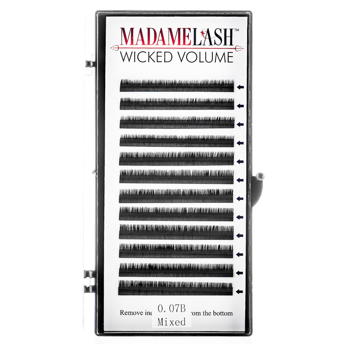 Wicked Volume Mixed Lash Trays