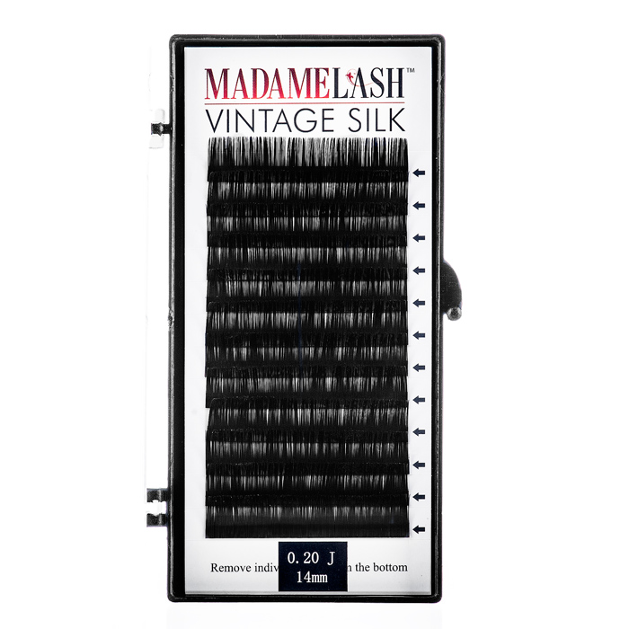 Vintage Silk J Curl Lashes